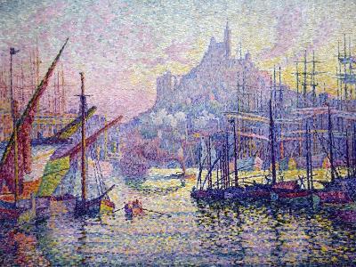 Notre-Dame-De-La-Garde (La Bonne-Mère), Marseilles-Paul Signac-Art Print