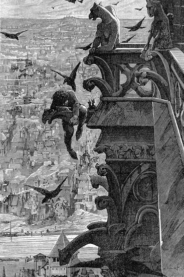 Notre-Dame de Paris-Luc-olivier Merson-Giclee Print
