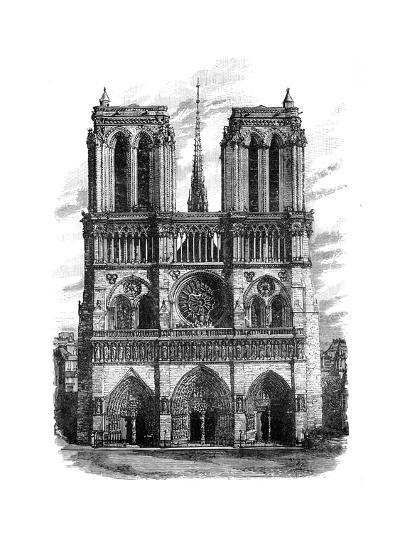 Notre Dame, Paris, C1888--Giclee Print