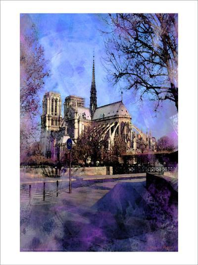 Notre-Dame, Paris, France-Nicolas Hugo-Giclee Print