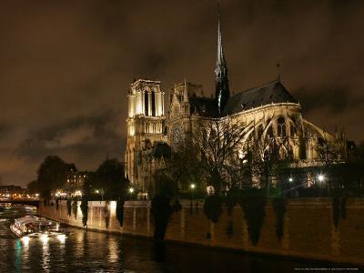 Notre Dame, Paris, France-Remy De La Mauviniere-Photographic Print