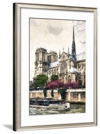 Notre Dame Paris-Philippe Hugonnard-Framed Giclee Print