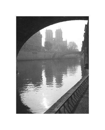 Notre Dame Reflection-Christopher Bliss-Giclee Print