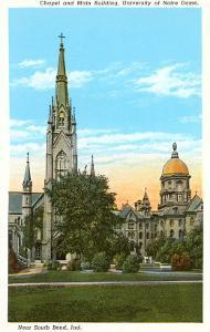 Notre Dame, South Bend, Indiana