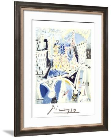 Notre Dame-Pablo Picasso-Framed Collectable Print