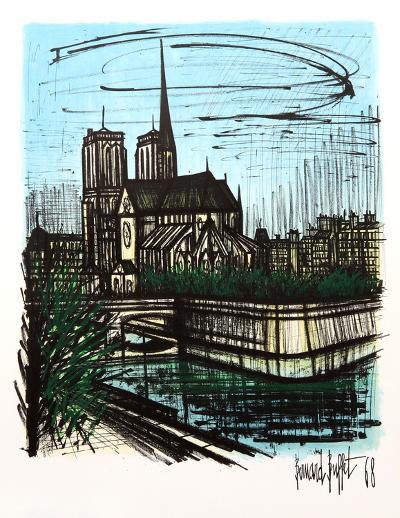 Notre Dame-Bernard Buffet-Collectable Print