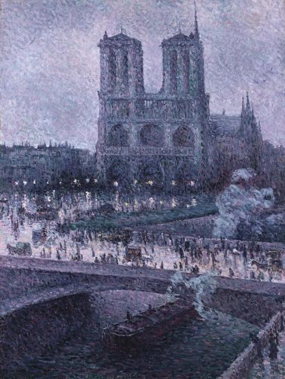 Notre Dame-Maximilien Luce-Giclee Print