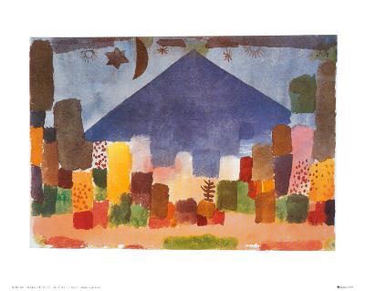 Notte Egiziana-Paul Klee-Art Print