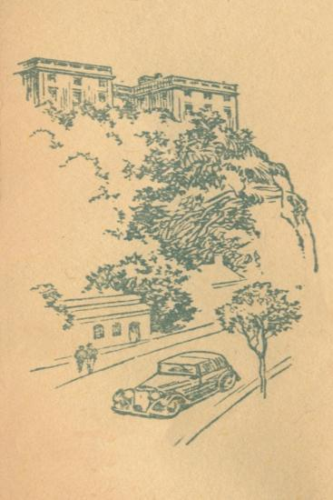 'Nottingham Castle', c1936-Unknown-Giclee Print