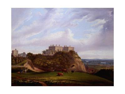 Nottingham Castle, England-Alfred Parker-Giclee Print
