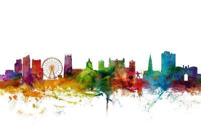 Nottingham England Skyline-Michael Tompsett-Art Print