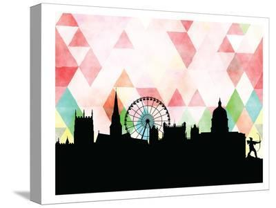 Nottingham Triangle-Paperfinch 0-Stretched Canvas Print