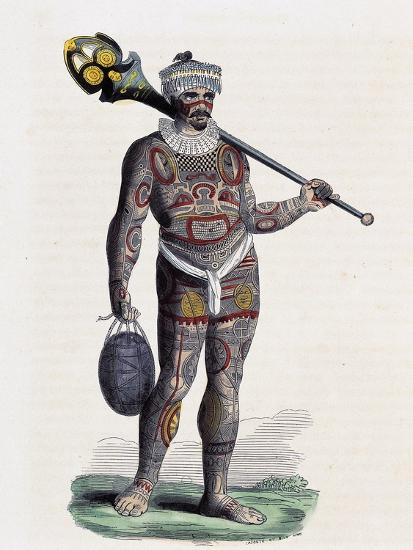 Noukahiwan Man (Oceania)--Giclee Print