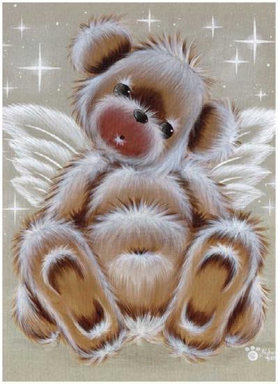Nounours Ange-Cobe-Art Print