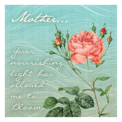 Nourished Rose-Tony Pazan-Art Print