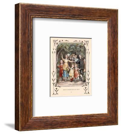 Nous N'irons Plus Au Bois IV--Framed Art Print