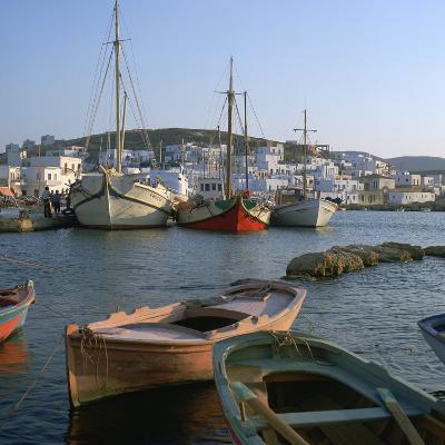 Noussa Harbour in the Evening-CM Dixon-Photographic Print