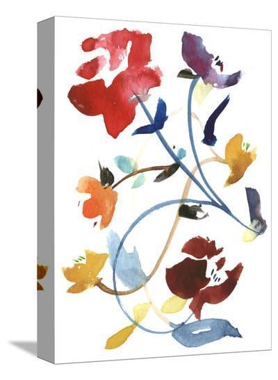 Nouveau Boheme - Folk Art Series No. 2-Kiana Mosley-Stretched Canvas Print