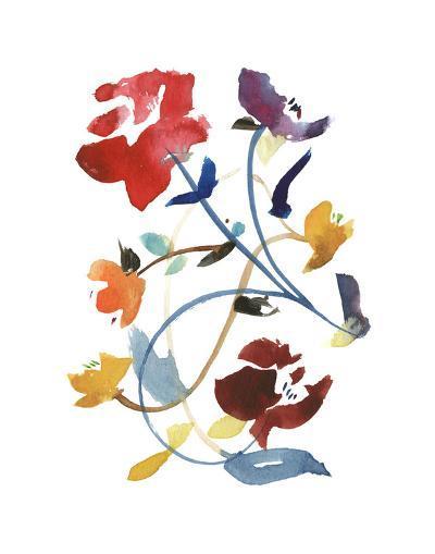 Nouveau Boheme - Folk Art Series No. 2-Kiana Mosley-Art Print