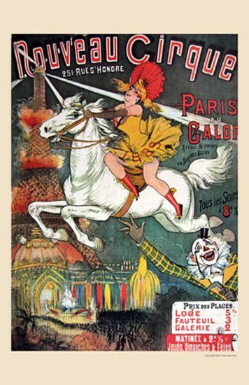Nouveau Cirque, 1889--Art Print