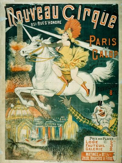 Nouveau Cirque, 1889--Giclee Print