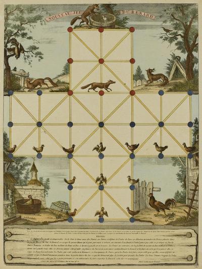 Nouveau jeu du renard--Giclee Print