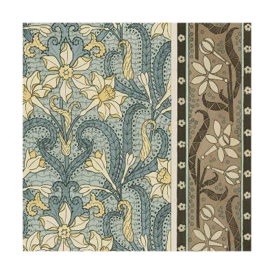 Nouveau Textile Motif III-Vision Studio-Art Print