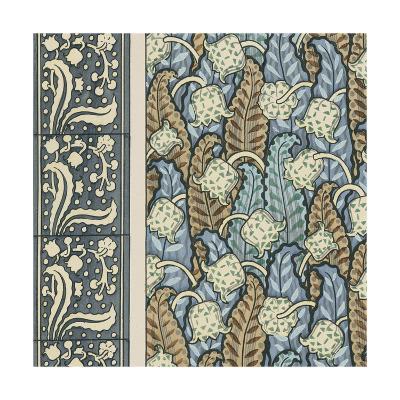 Nouveau Textile Motif IV-Vision Studio-Art Print