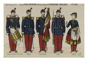Nouvel uniforme de l'infanterie française
