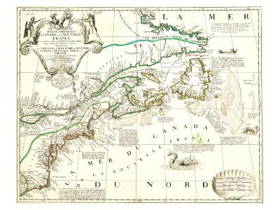 Nouvelle France Québec Canada-Jean Baptiste Nolin-Art Print