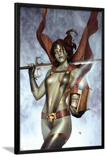 Nova No.6 Cover: Gamora--Lamina Framed Poster