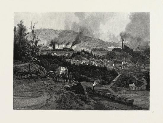 Nova Scotia, Acadia Mines, Canada, Nineteenth Century--Giclee Print