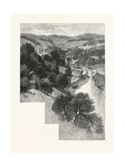 Nova Scotia, Bear River, Canada, Nineteenth Century--Giclee Print