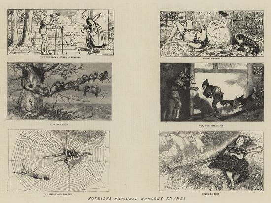 Novello's National Nursery Rhymes-William Small-Giclee Print