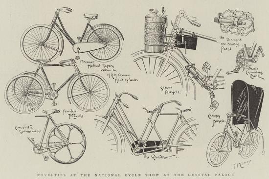 Novelties at the National Cycle Show at the Crystal Palace--Giclee Print