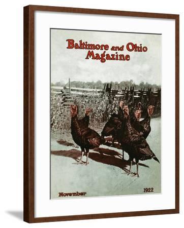 November 1922--Framed Giclee Print