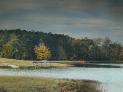 November Dock-Jai Johnson-Giclee Print