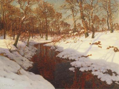 November Evening, c.1923-Ivan Fedorovich Choultse-Giclee Print