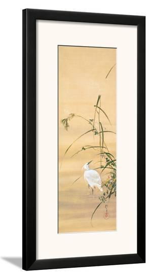 November-Sakai Hoitsu-Framed Giclee Print