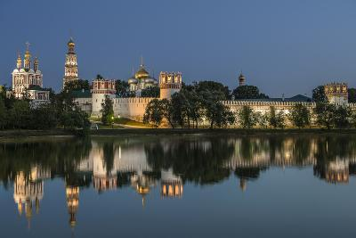 Novodevichy Convent at Night.-Sachkov-Photographic Print