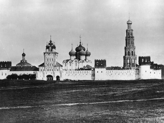 Novodevichy Convent (New Maidens' Conven), Moscow, Russia, 1879- Scherer Nabholz & Co-Photographic Print