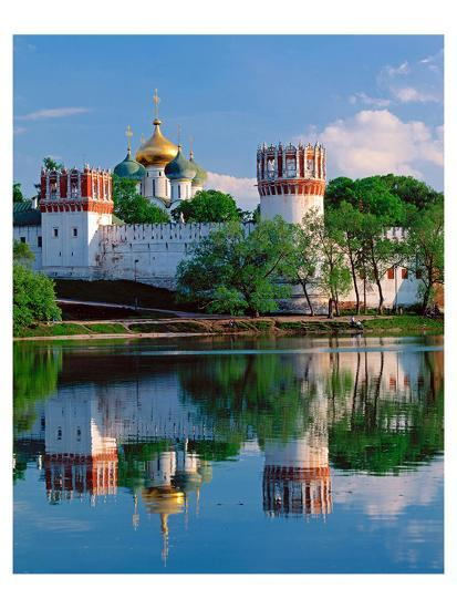Novodevichy Convent, New Maidens' Convent, Moscow, Russia--Art Print