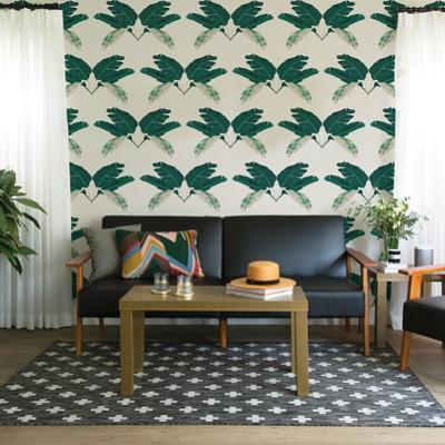 Palm Marine Self-Adhesive Wallpaper by Novogratz