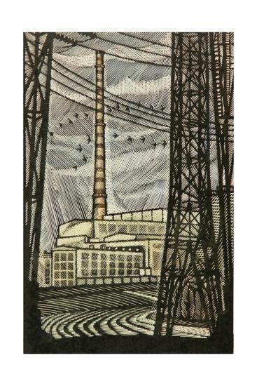 Novovoronezh Nuclear Power Plant, 1969-Masabikh Akhunov-Giclee Print
