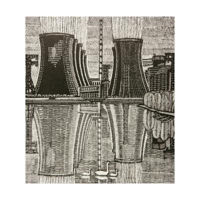 Novovoronezh Nuclear Power Plant, 1978-Masabikh Akhunov-Giclee Print