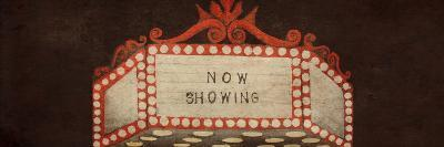 Now Showing Marquee-Gina Ritter-Premium Giclee Print