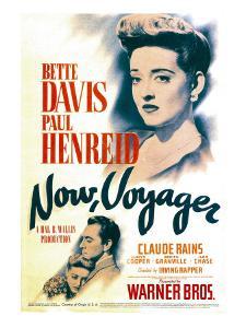 Now, Voyager, Bette Davis, Bette Davis, Paul Henreid on Midget Window Card, 1942