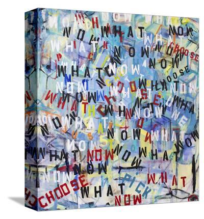 Now What-Brigitte Wolf-Stretched Canvas Print