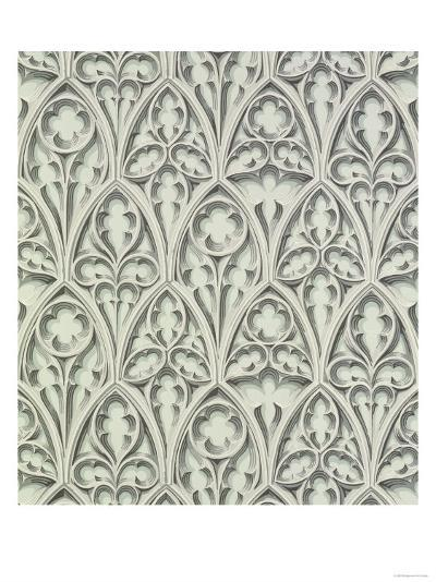 Nowton Court; Reproduction Wallpaper by Cole & Co from an Original, 1840 for Nowton Court--Giclee Print