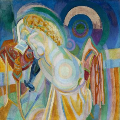 Nu à la coiffeuse-Robert Delaunay-Giclee Print